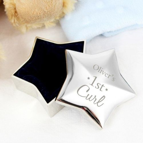 1st Curl Star Trinket Box